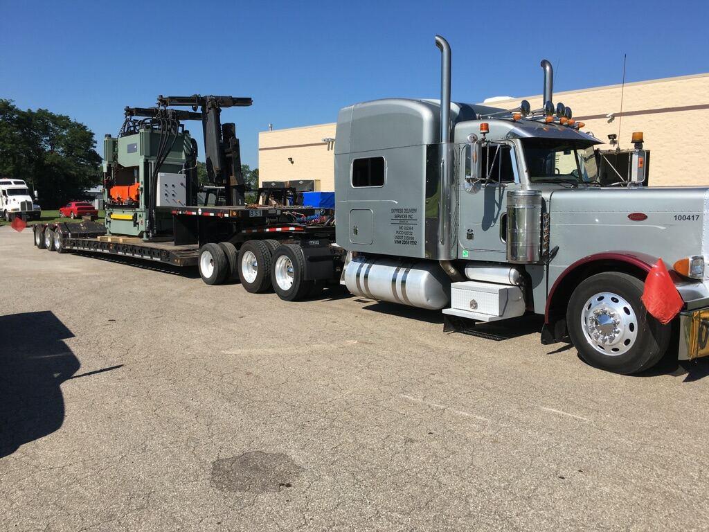 Cincinnati and Dayton Flatbed Truck
